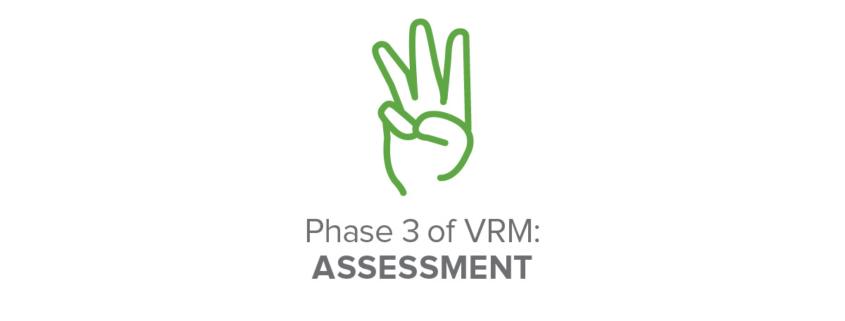 Phase 3 of VRM: Assessment