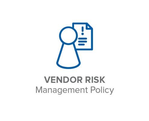Vendor Risk Management Policy