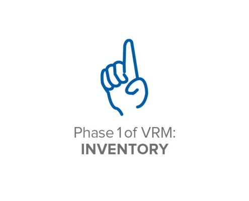 Phase 1 of VRM: Inventory