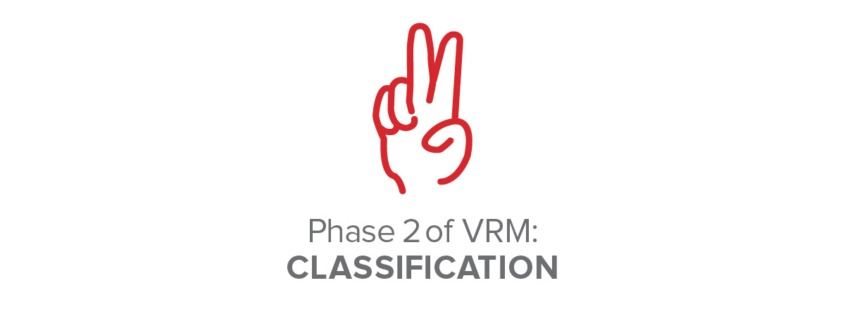 Phase 2 of VRM: Classification