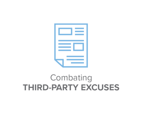 Combating Third Party Excuses