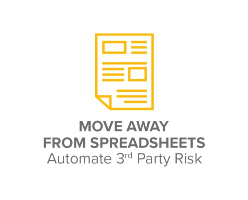 Moving Away from Spreadsheets: How to Automate Your Third-party Risk Management Process