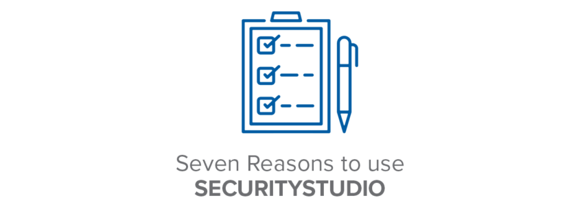 Seven reasons to use securitystudio