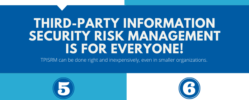 7 Must-Haves for Effective Third-Party Information Security Risk Management