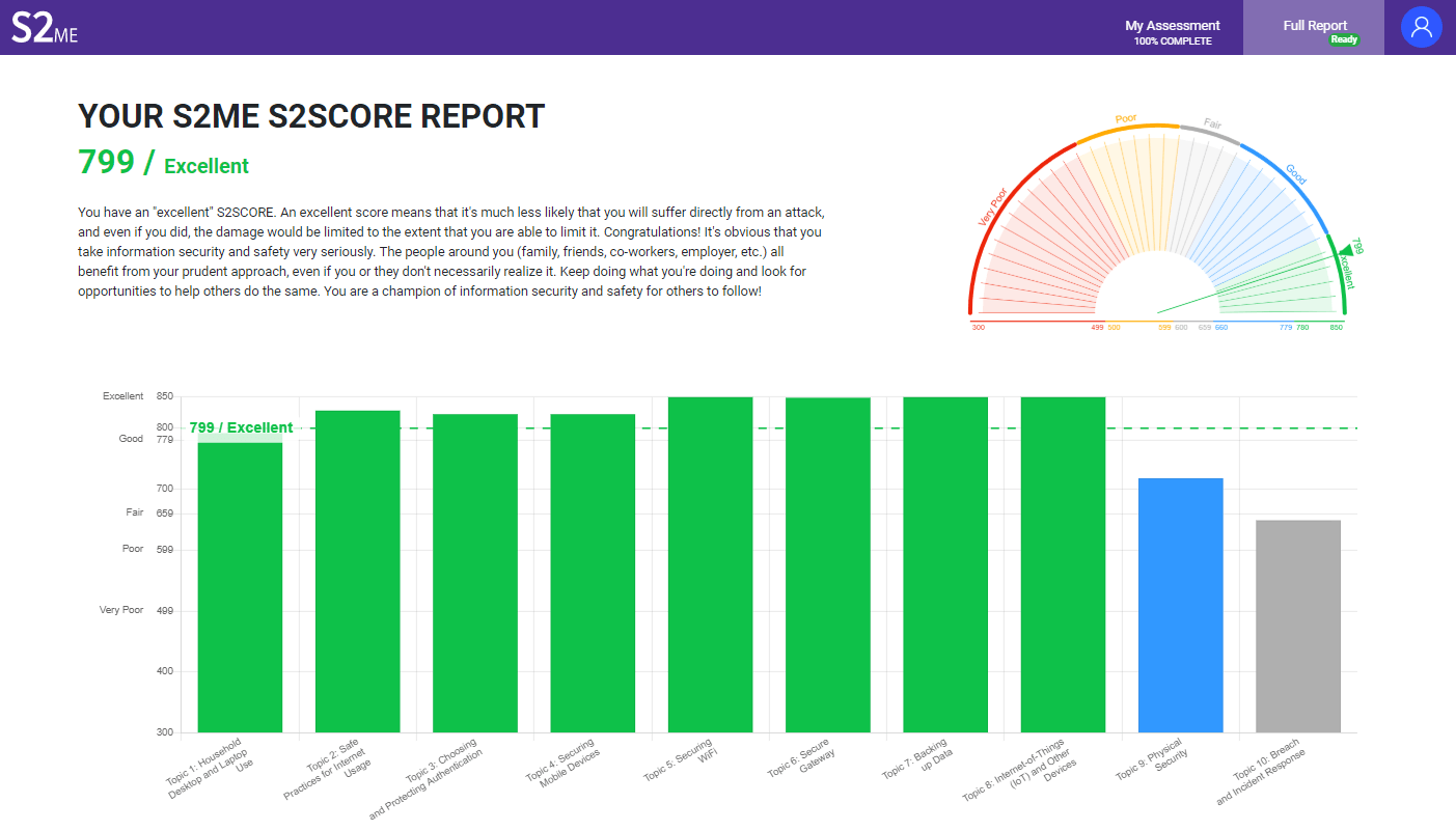 The S2Score within the S2ME tool