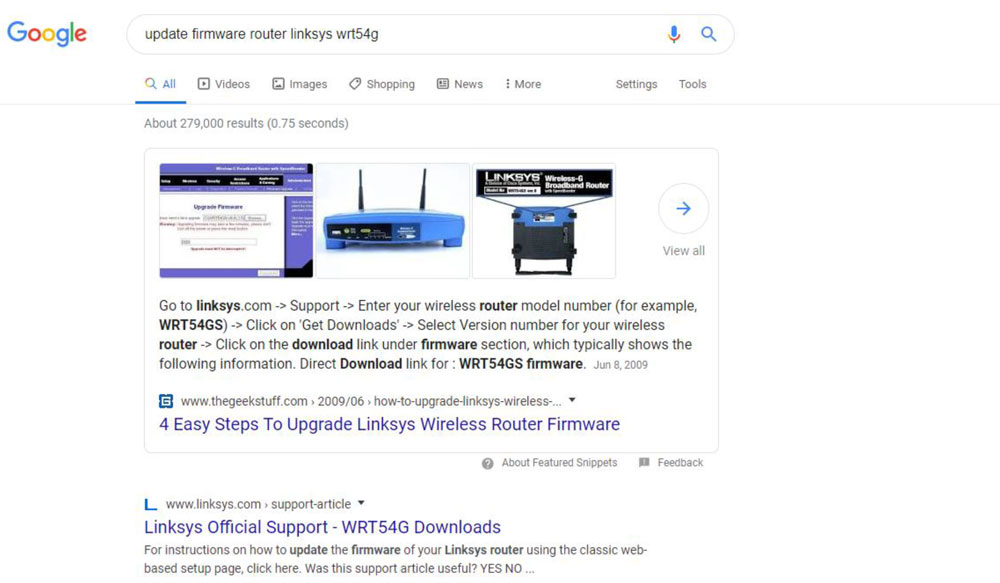 router firmware update