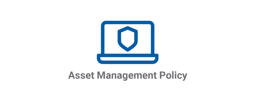 Asset Management Policy