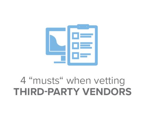 vetting third-party vendors