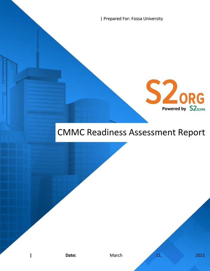 CMMC Readiness Specialty Report